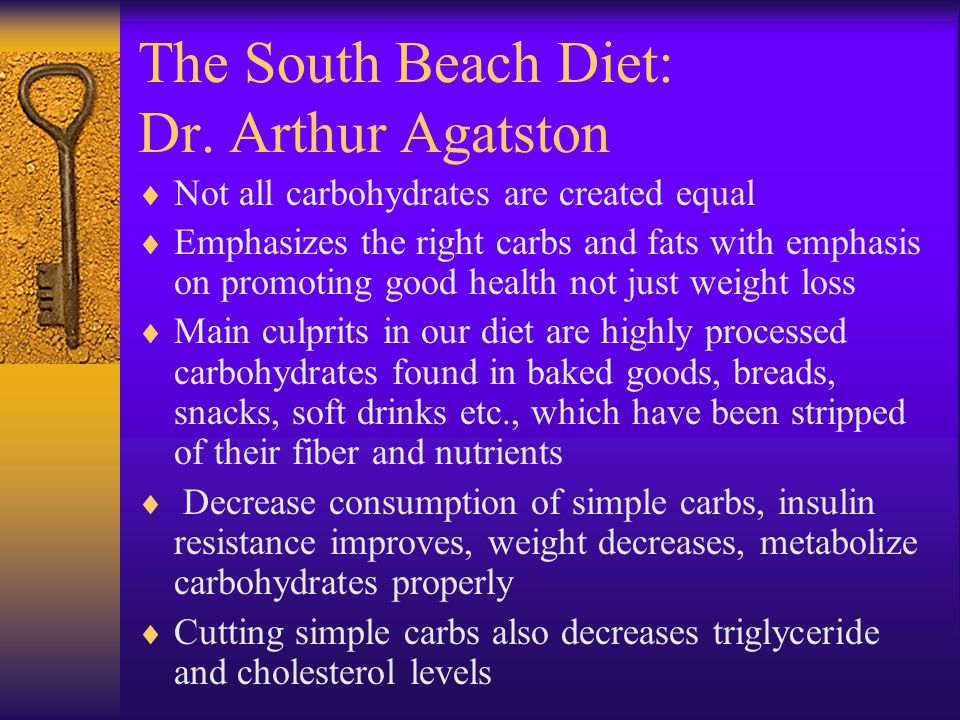 The South Beach Diet: Dr. Arthur Agatston
