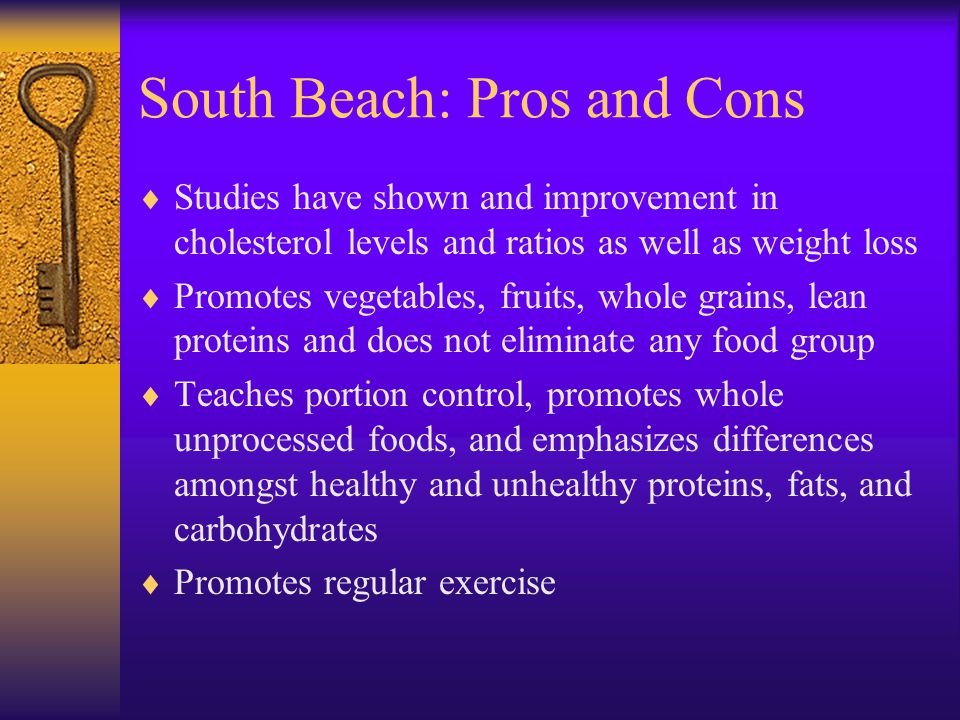 South Beach: Pros and Cons