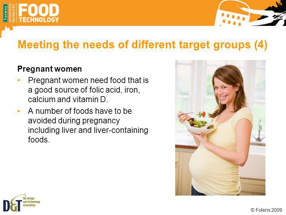 Meeting the needs of different target groups (4)