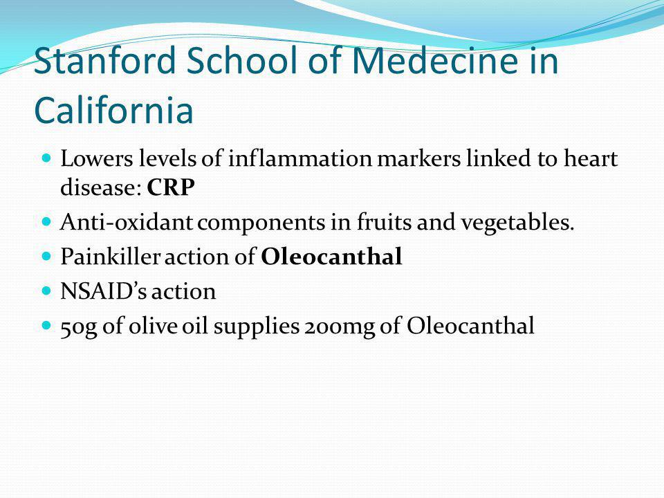Stanford School of Medecine in California