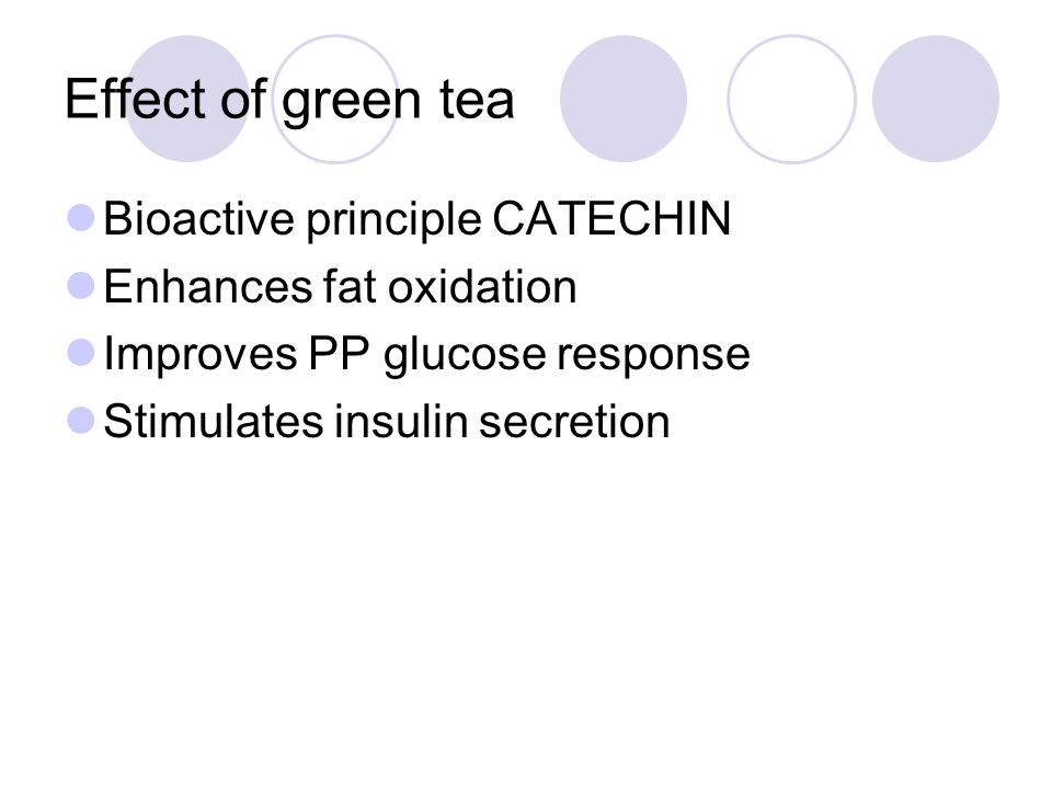 Effect of green tea Bioactive principle CATECHIN