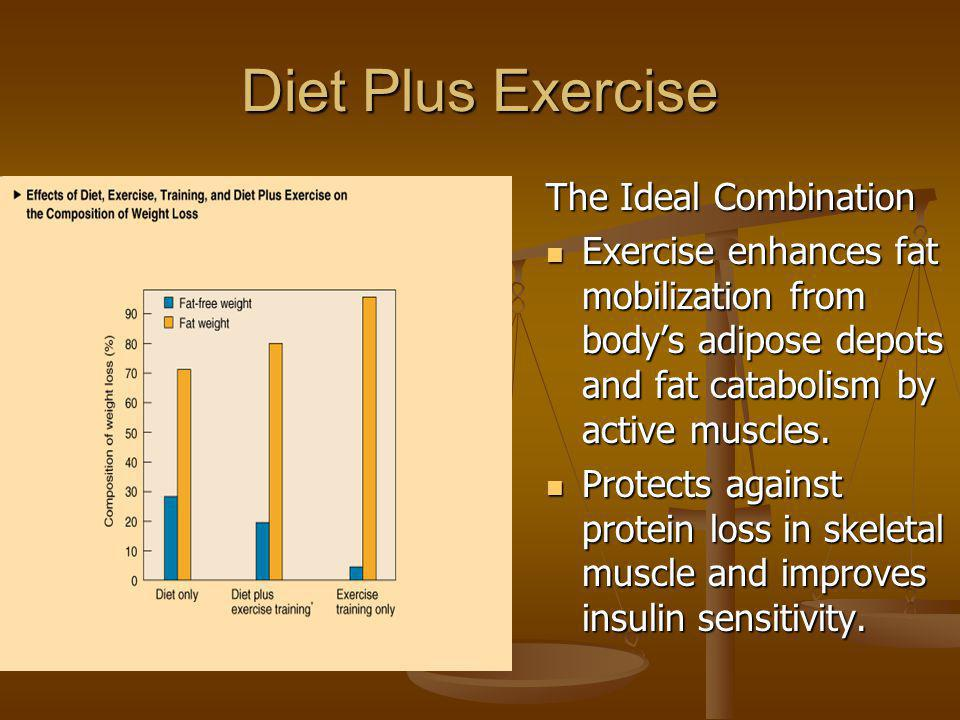 Diet Plus Exercise The Ideal Combination