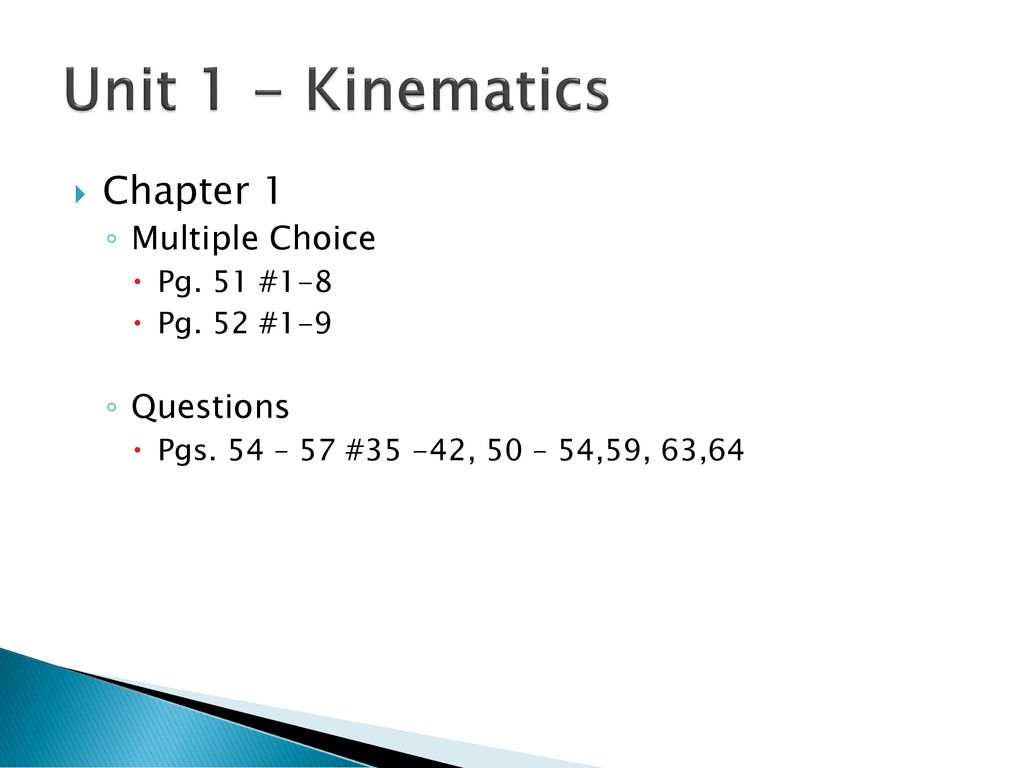 SPH3U Exam Review January ppt download