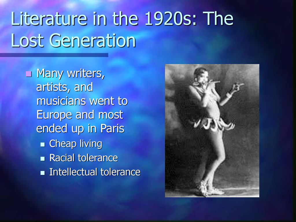 Society in the 1920s Mass Media in the Jazz Age Cultural