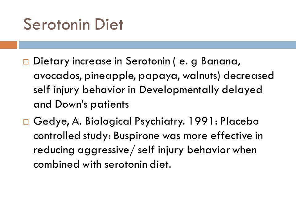 Serotonin Diet