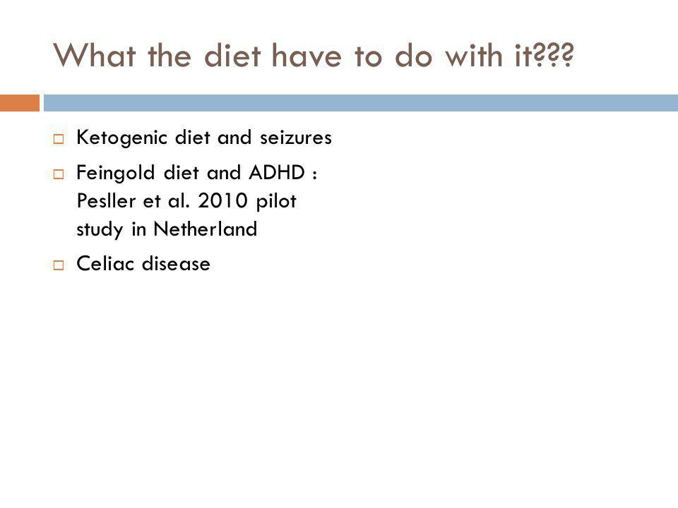 What the diet have to do with it