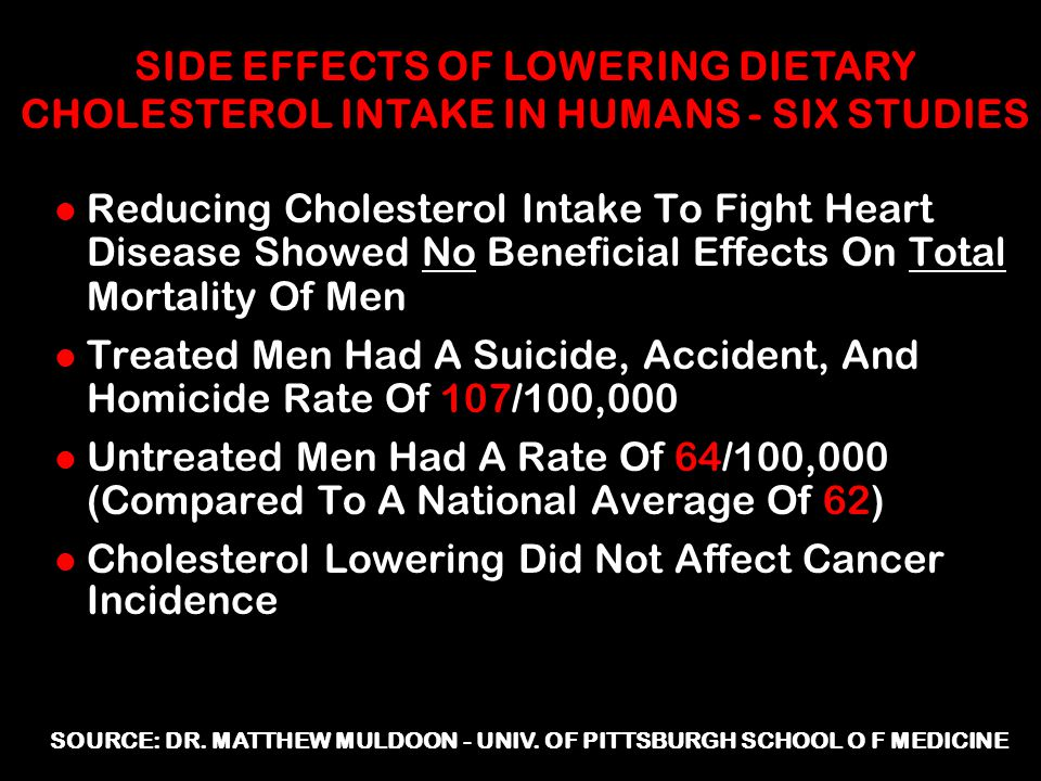 SOURCE: DR. MATTHEW MULDOON - UNIV. OF PITTSBURGH SCHOOL O F MEDICINE