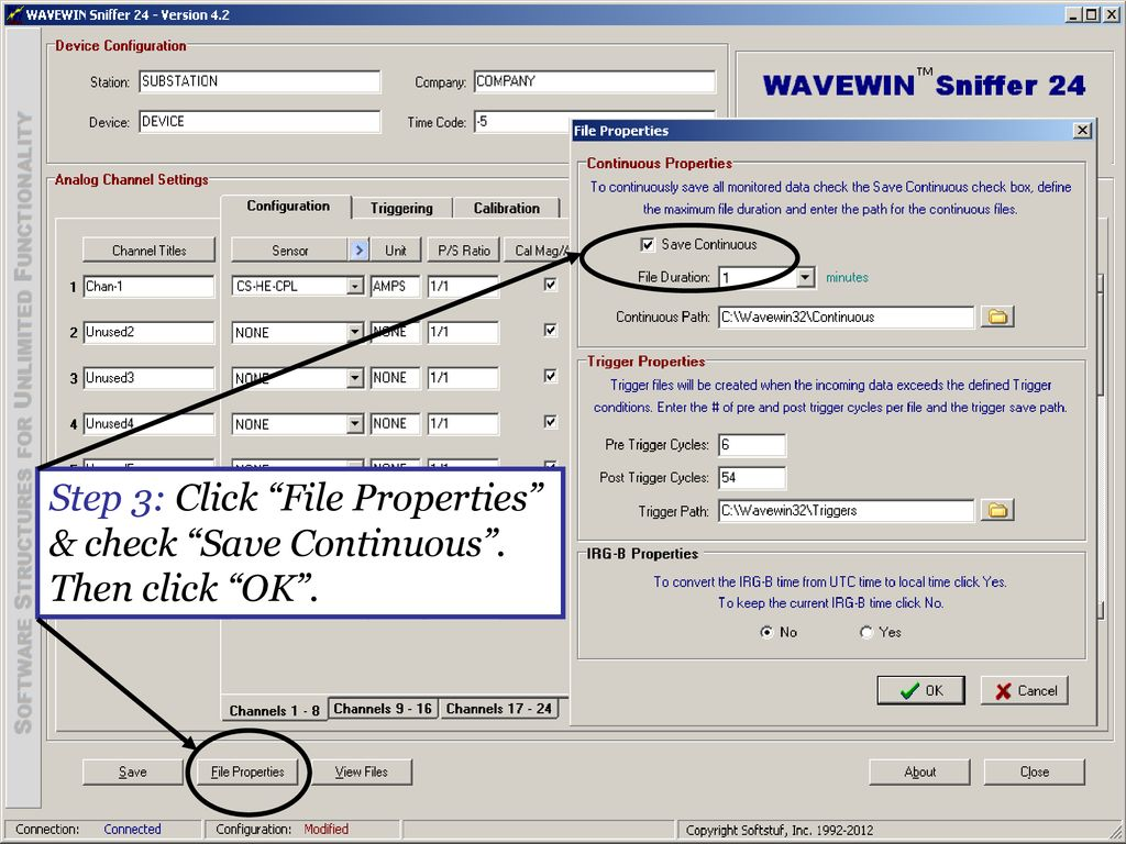 Wavewin Sniffer 24 Configuration & Polling Software - ppt download