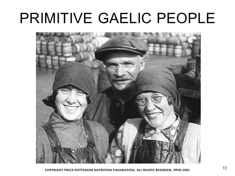 PRIMITIVE GAELIC PEOPLE