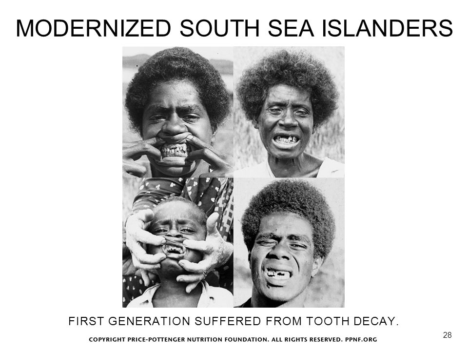 MODERNIZED SOUTH SEA ISLANDERS