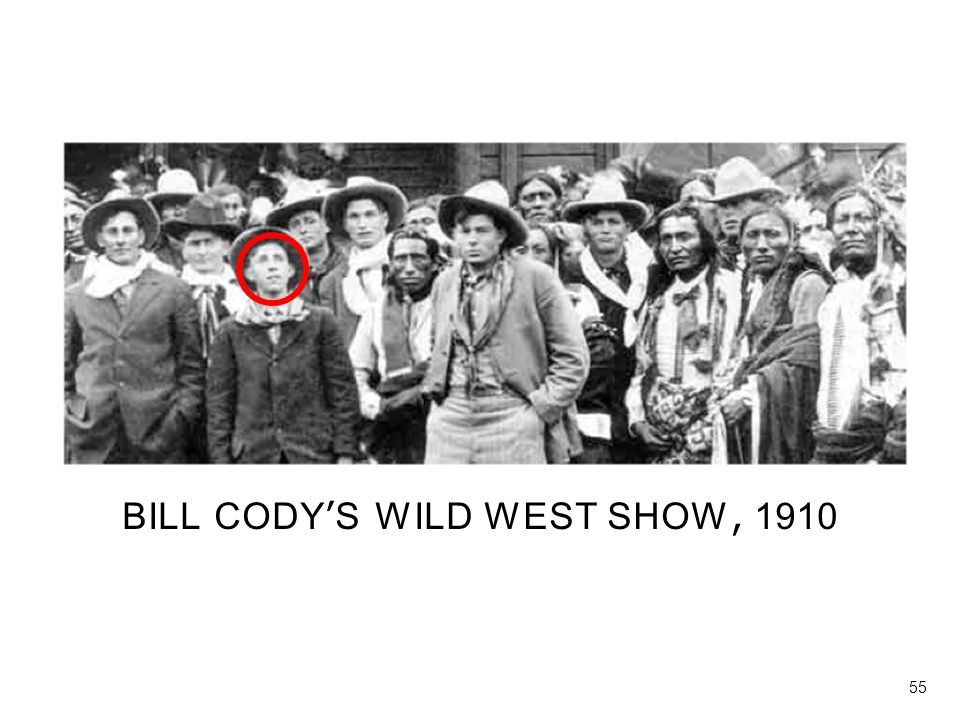 BILL CODY'S WILD WEST SHOW, 1910
