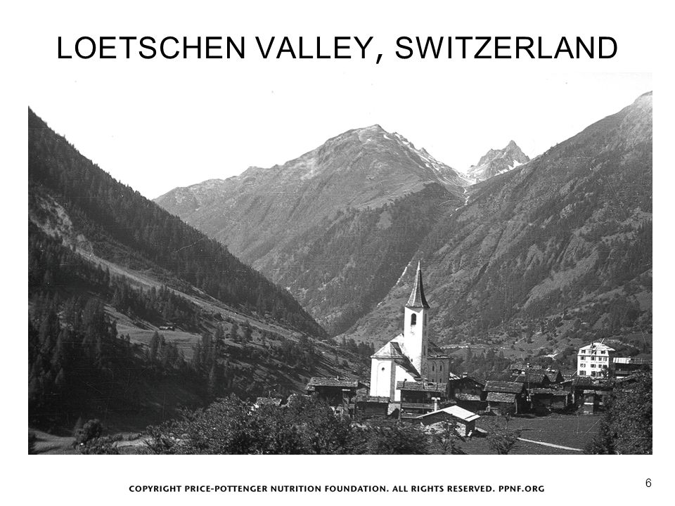 LOETSCHEN VALLEY, SWITZERLAND