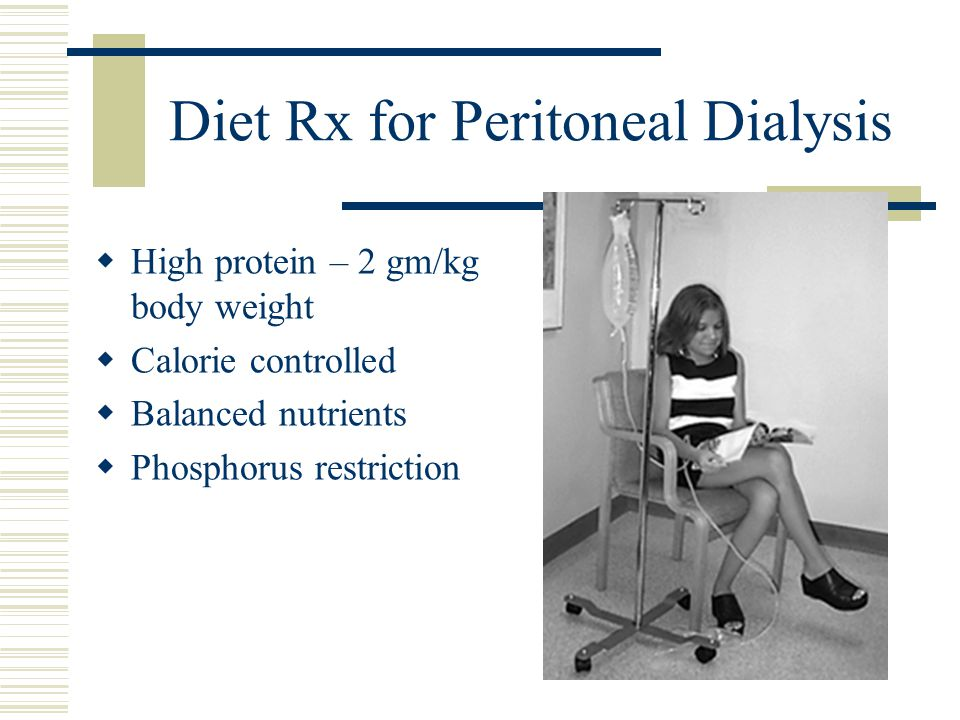 Diet Rx for Peritoneal Dialysis