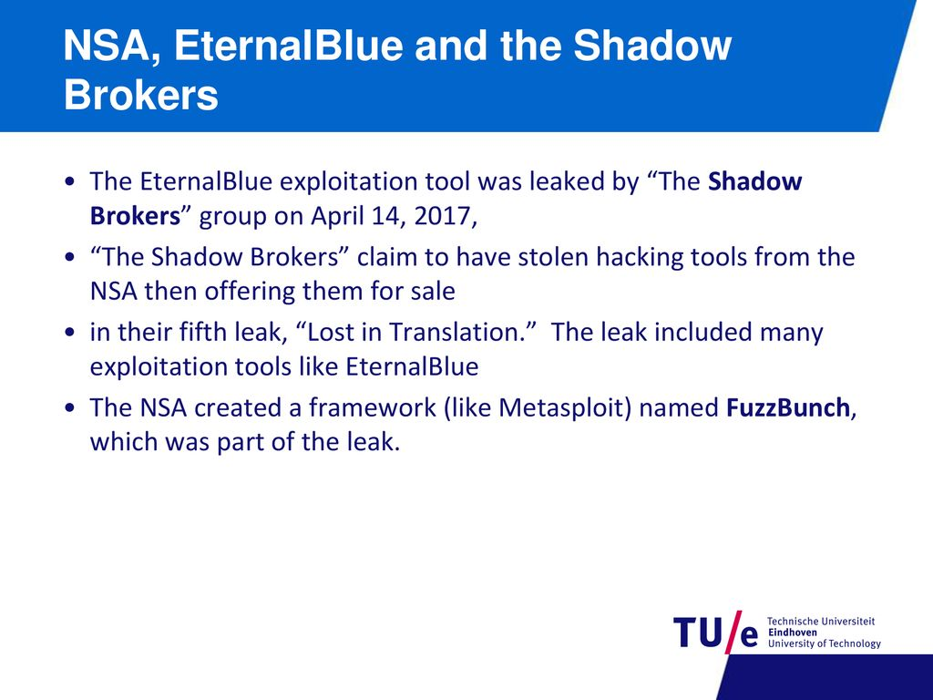 Lecture 4a: Cases study IT attacks (1/2)  - ppt download