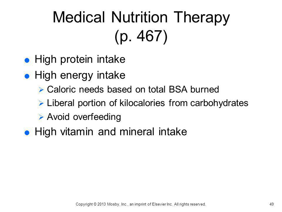 Medical Nutrition Therapy (p. 467)