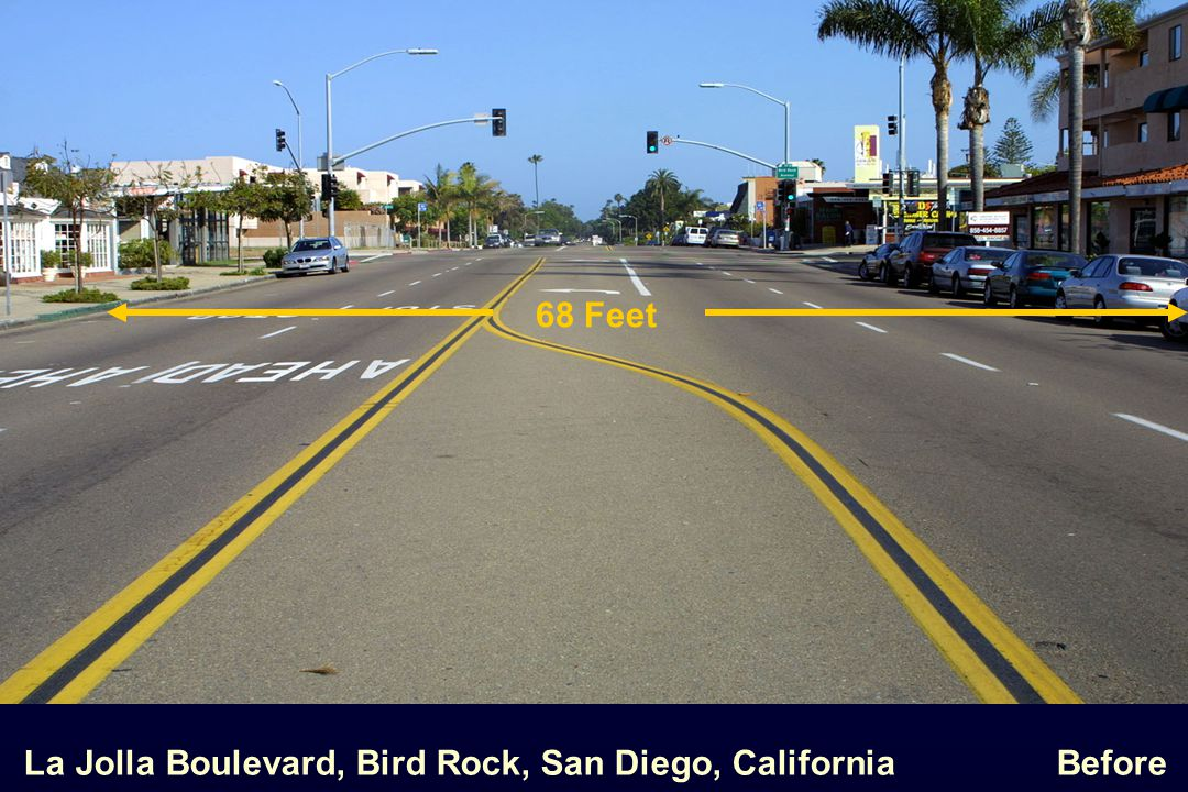 68 Feet La Jolla Boulevard, Bird Rock, San Diego, California Before