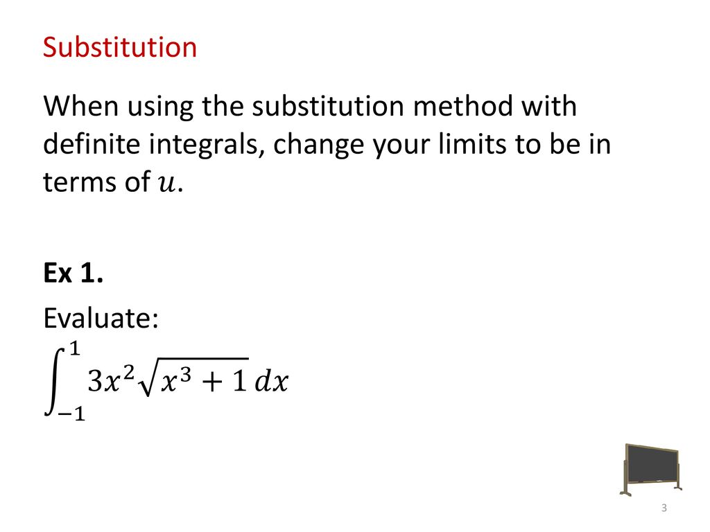 Packet #25 Substitution and Integration by Parts (Again