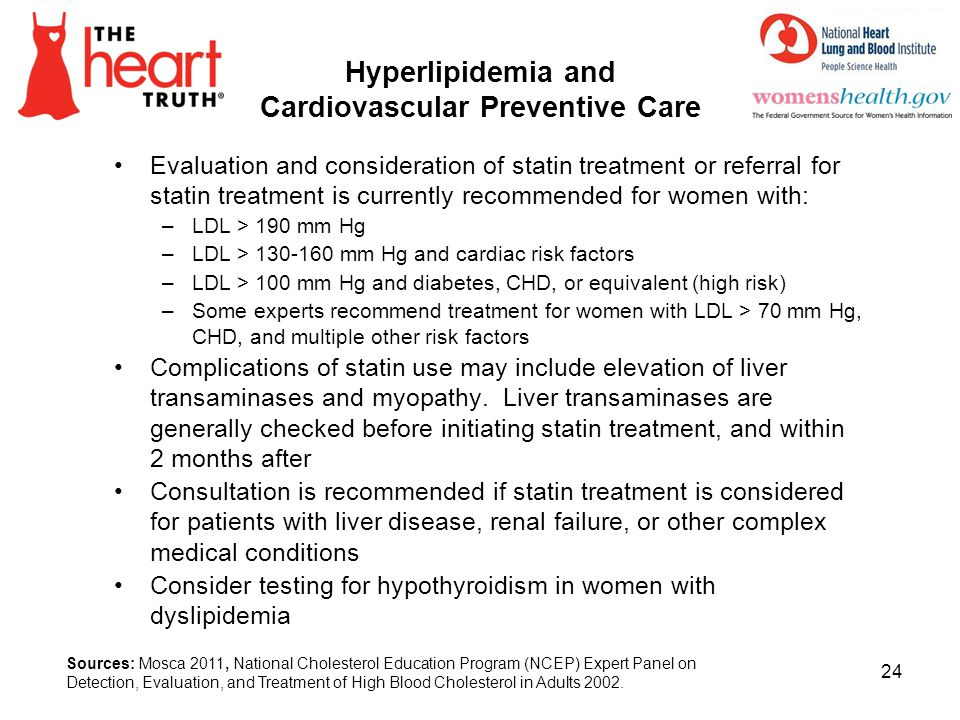 Hyperlipidemia and Cardiovascular Preventive Care