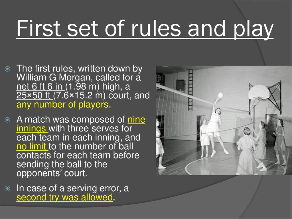 Volleyball Ppt Download