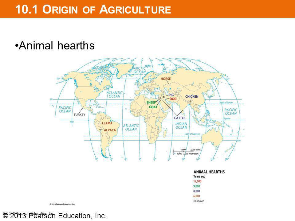 10.1 Origin of Agriculture Animal hearths