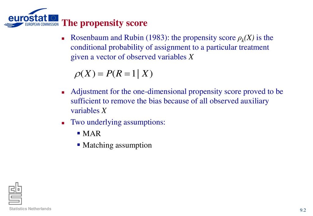 Chapter: 9: Propensity scores - ppt download