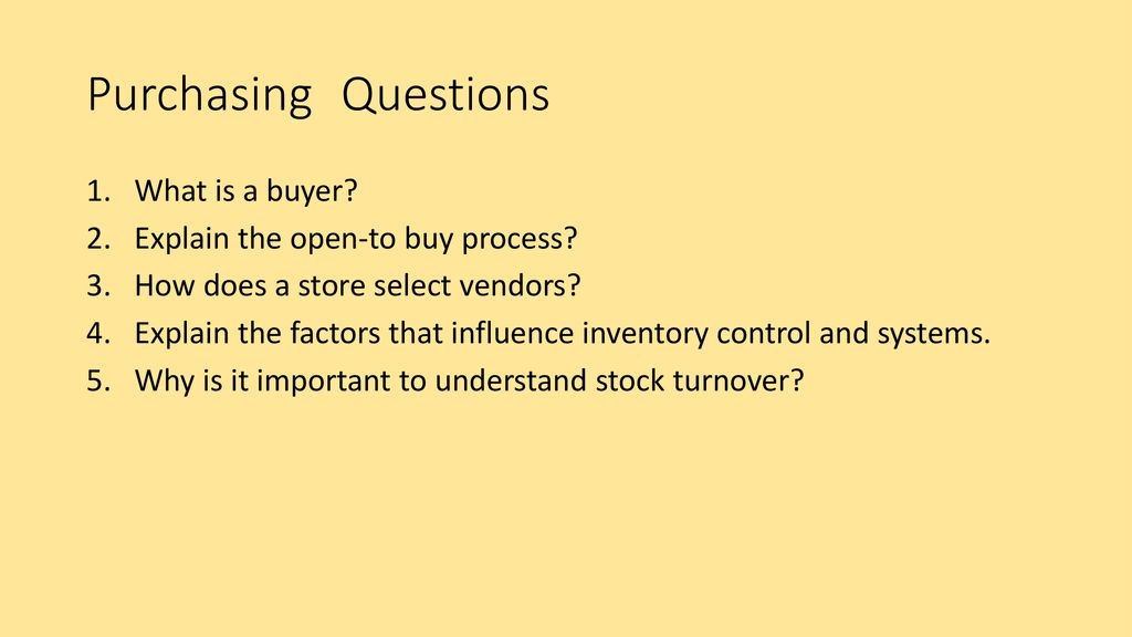 Purchasing Virtual Business Challenge - ppt download
