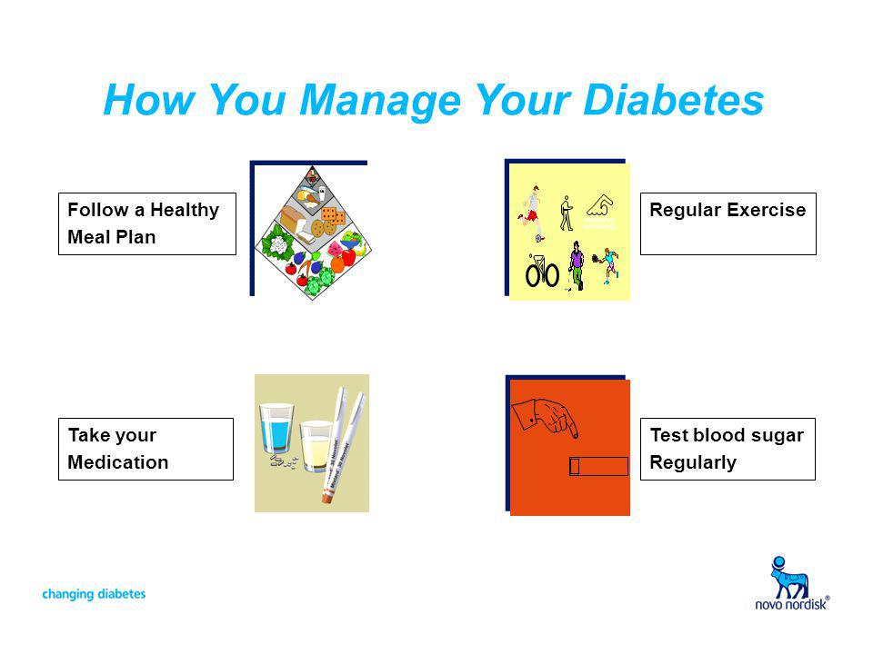 How You Manage Your Diabetes