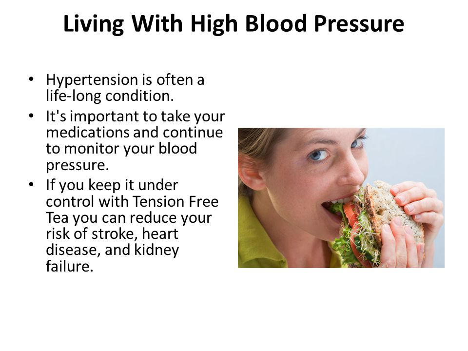 Living With High Blood Pressure