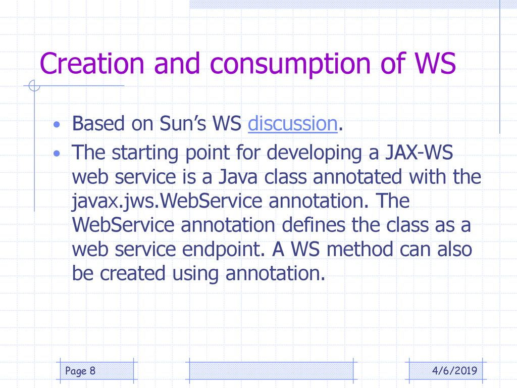 Distributed System using Web Services - ppt download