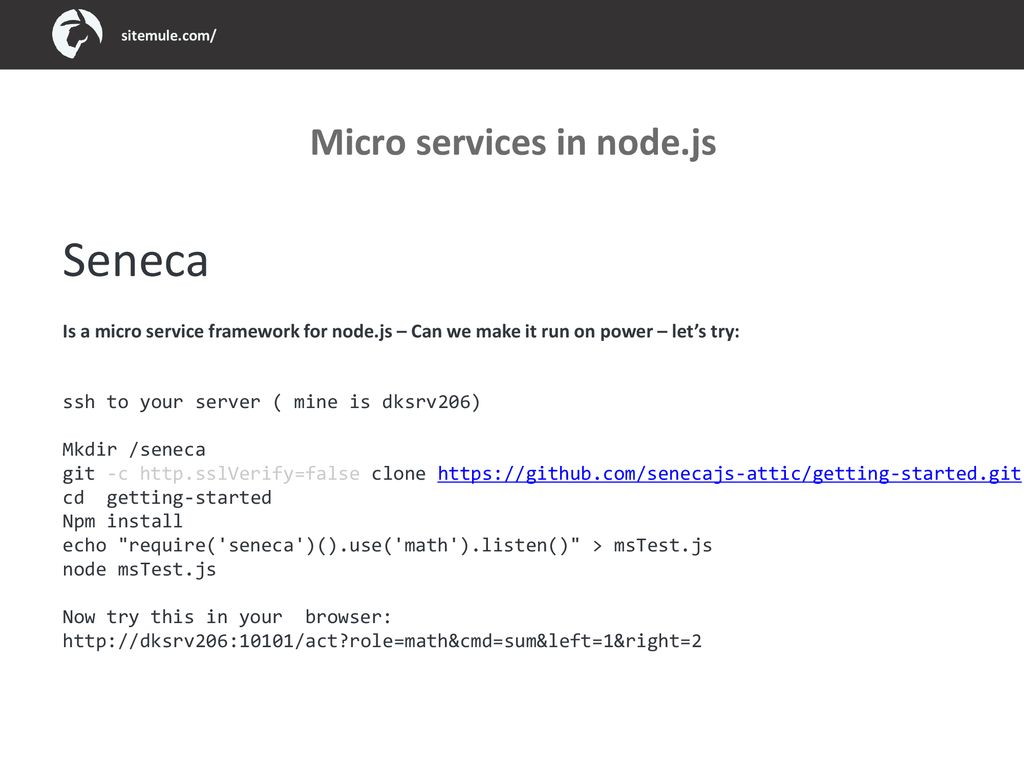 ExtJs and microservices - ppt download