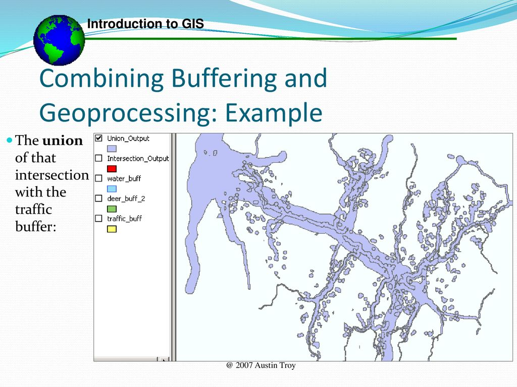 Vector Geoprocessing  - ppt download