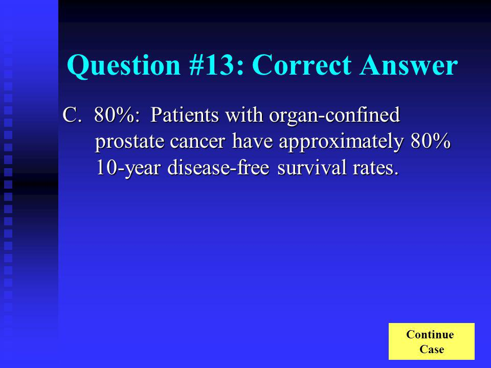Question #13: Correct Answer