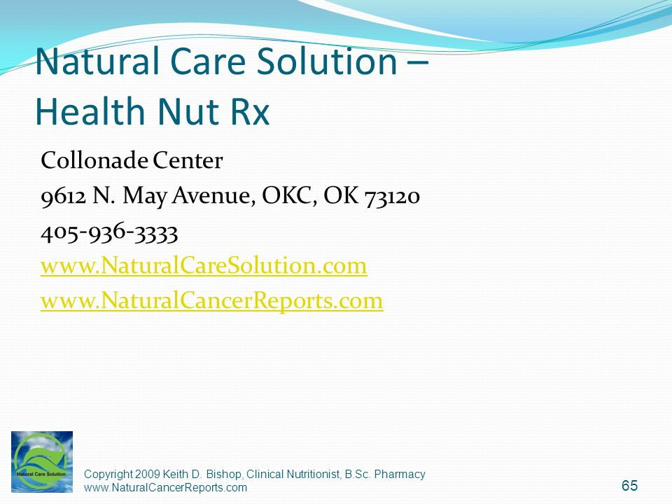 Natural Care Solution – Health Nut Rx