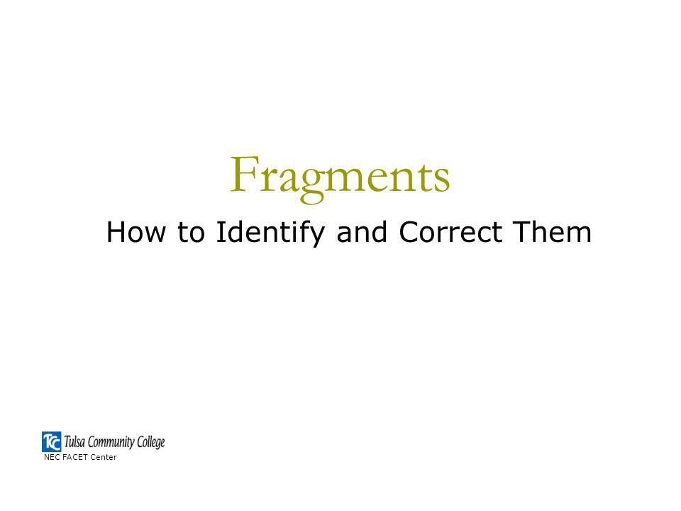 How to Identify and Correct Them