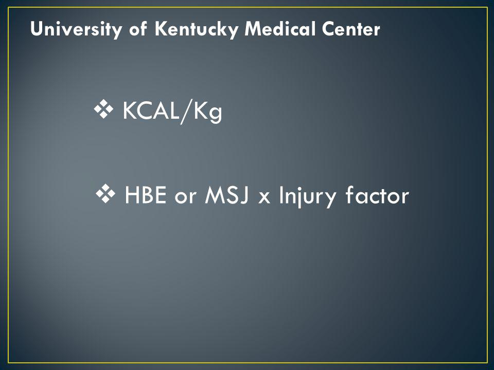 HBE or MSJ x Injury factor