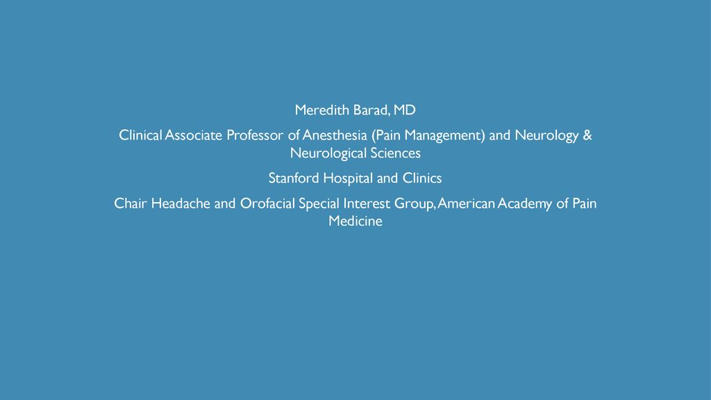 Stanford Hospital and Clinics - ppt download