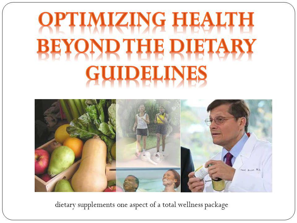 Beyond the Dietary Guidelines