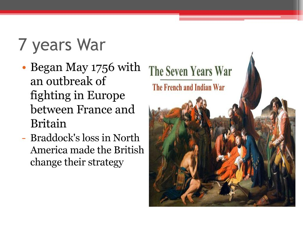 Image result for North American losses during the Seven Years War.