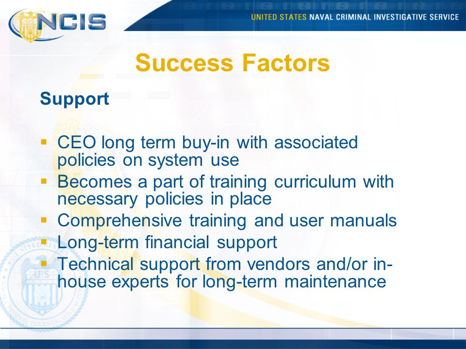 Success Factors Support