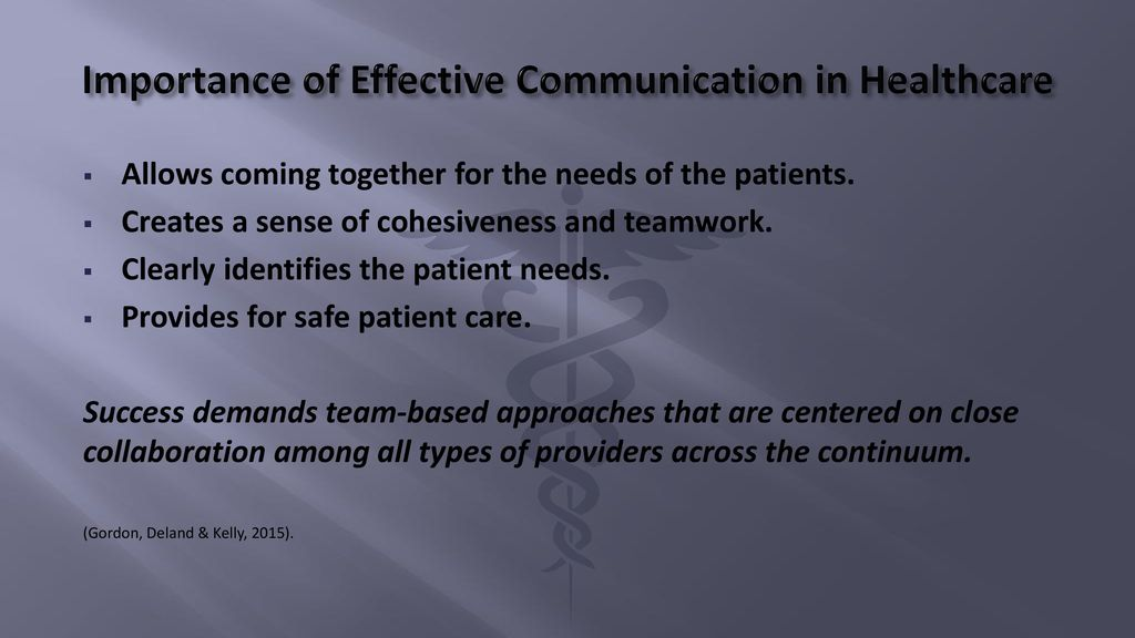 Improving communication during transfer of care - ppt download