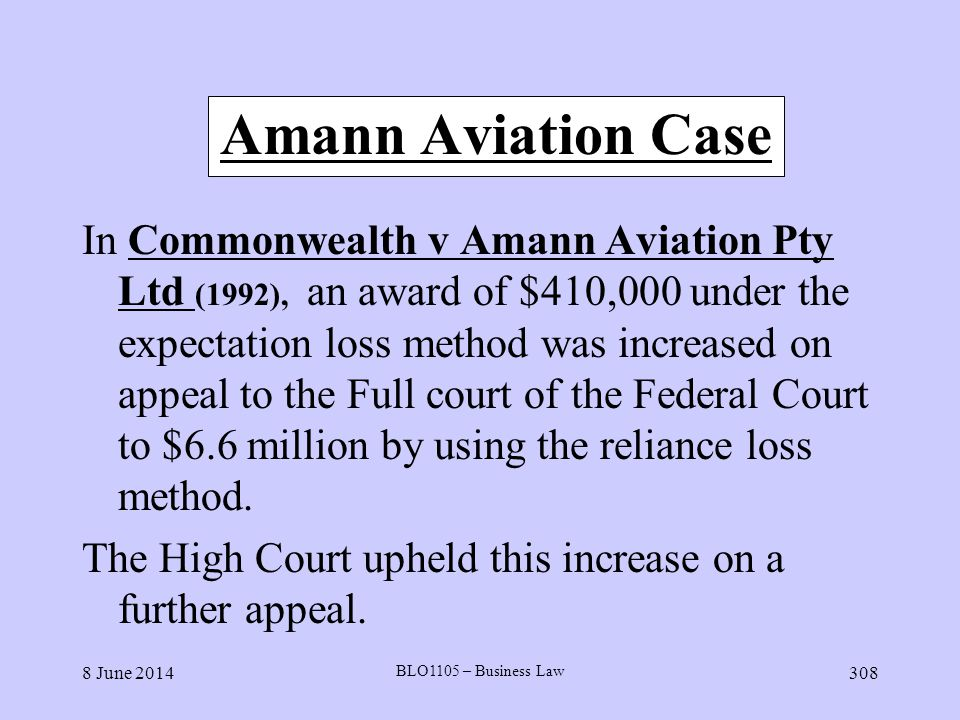 Amann Aviation Case