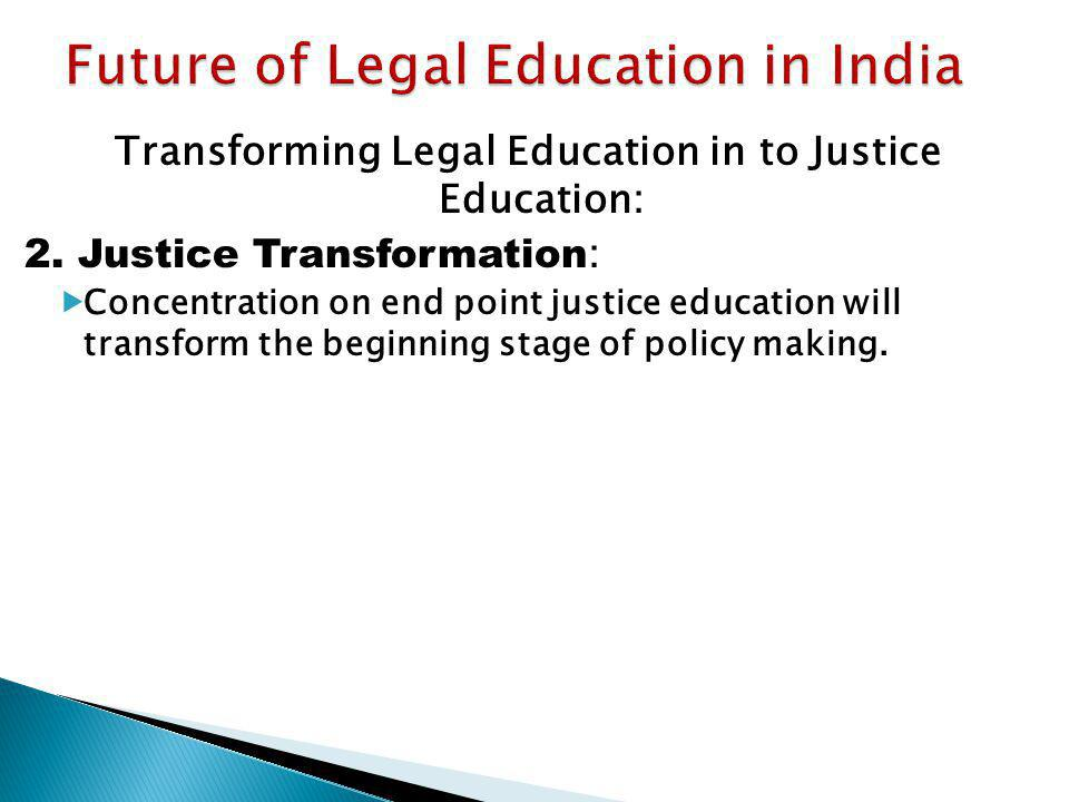 Future of Legal Education in India