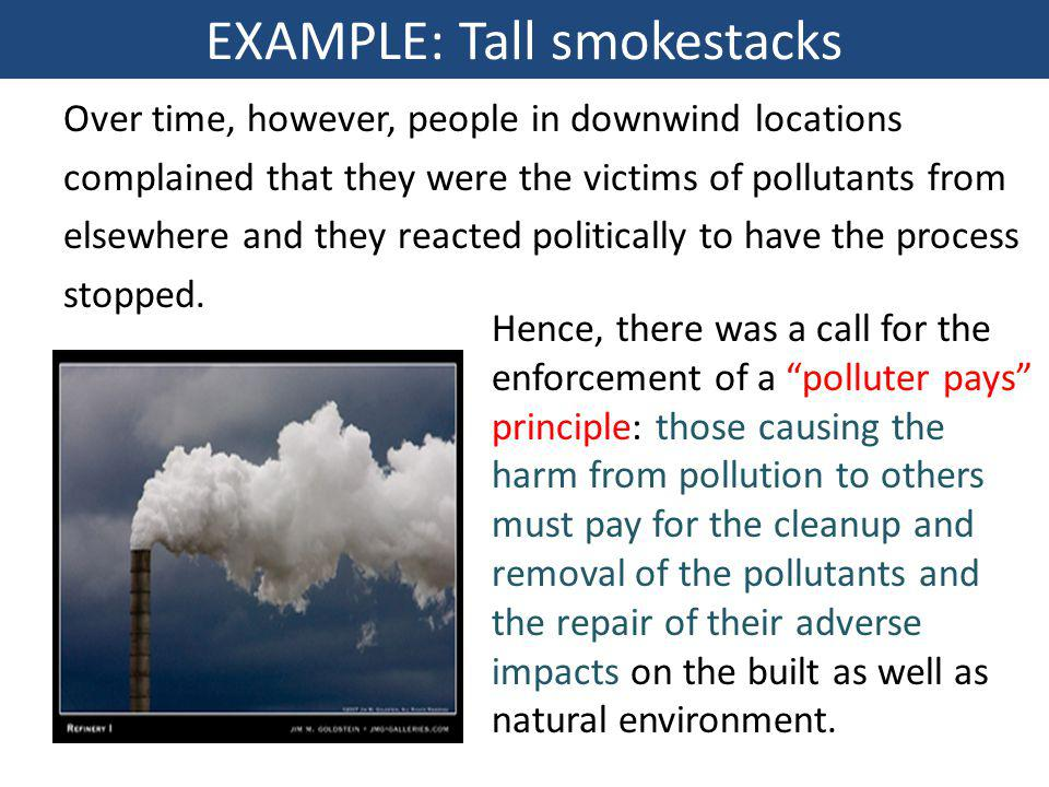 EXAMPLE: Tall smokestacks
