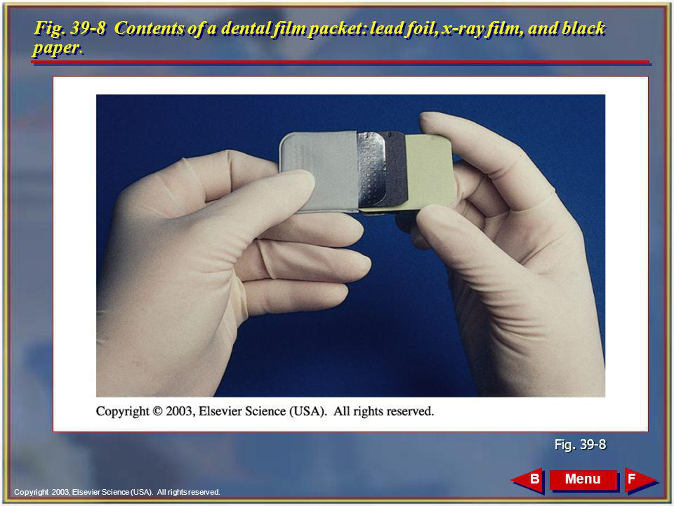 Chapter 39 Dental Film and Processing Radiographs - ppt ...