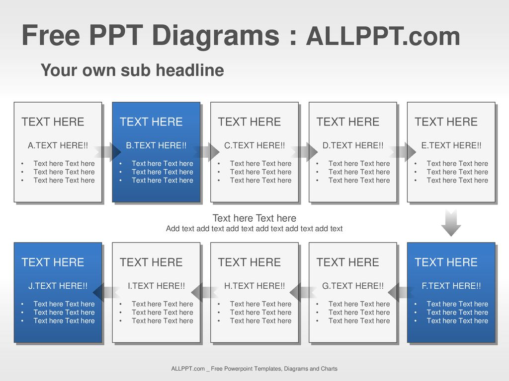 Free PPT Diagrams : ALLPPT com - ppt download