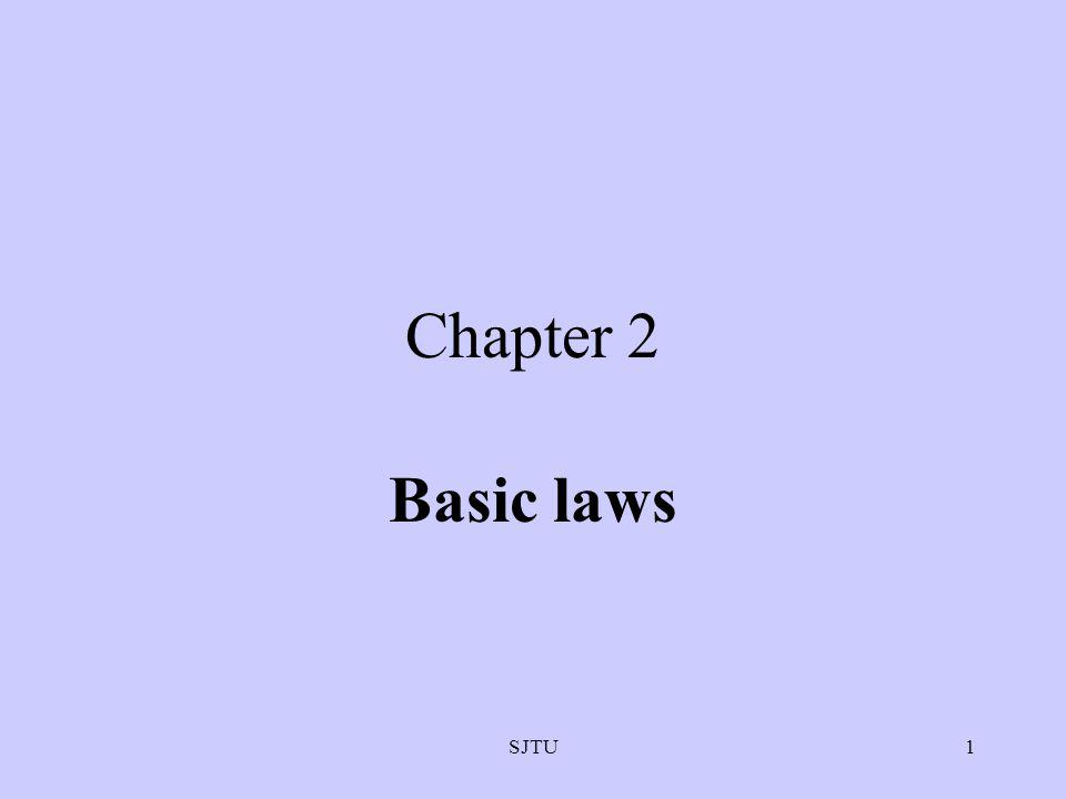 Chapter 2 Basic laws SJTU