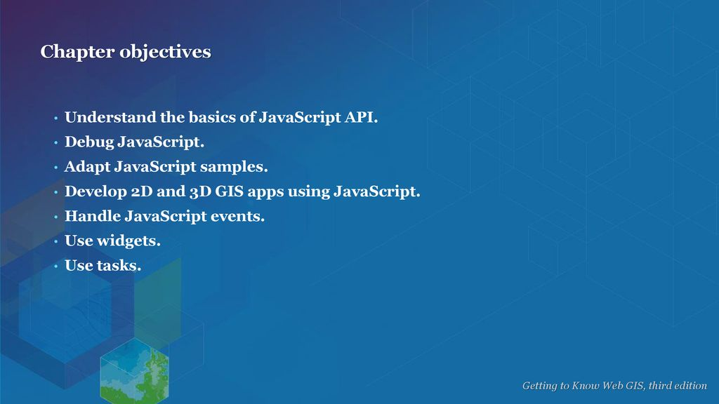 Getting started with ArcGIS API for JavaScript - ppt download