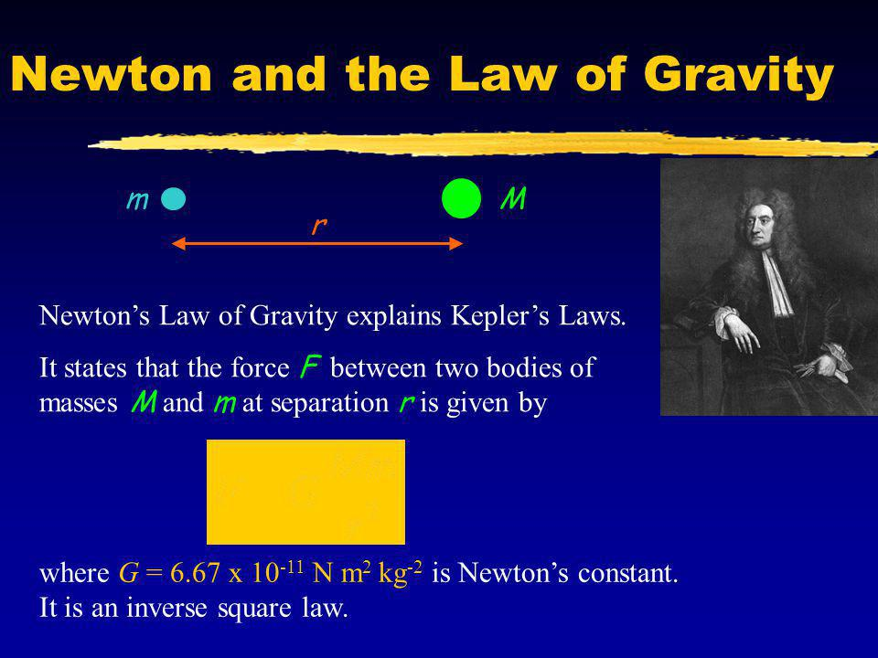 Newton and the Law of Gravity