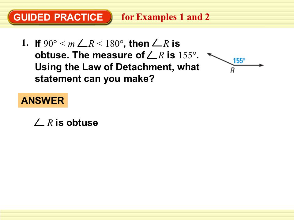 GUIDED PRACTICE for Examples 1 and 2. 1.