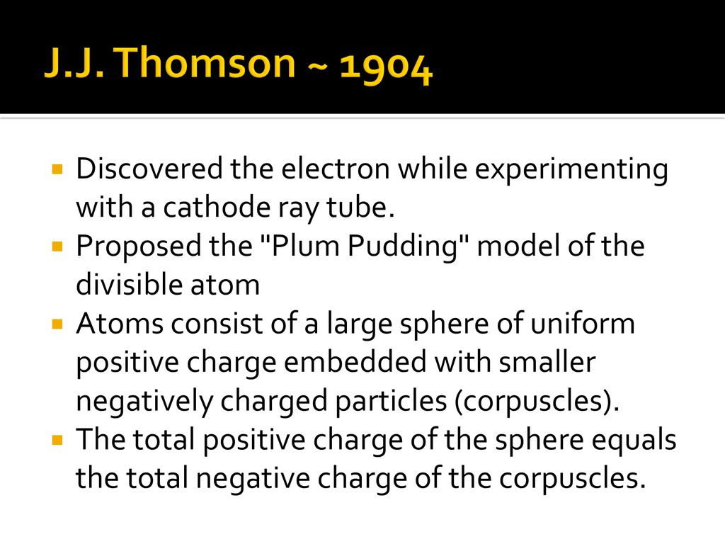 History of The Atomic Theory   ppt download